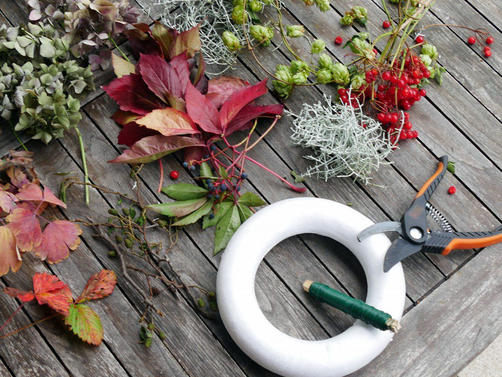 Gebundener Herbstkrank - Tutorial