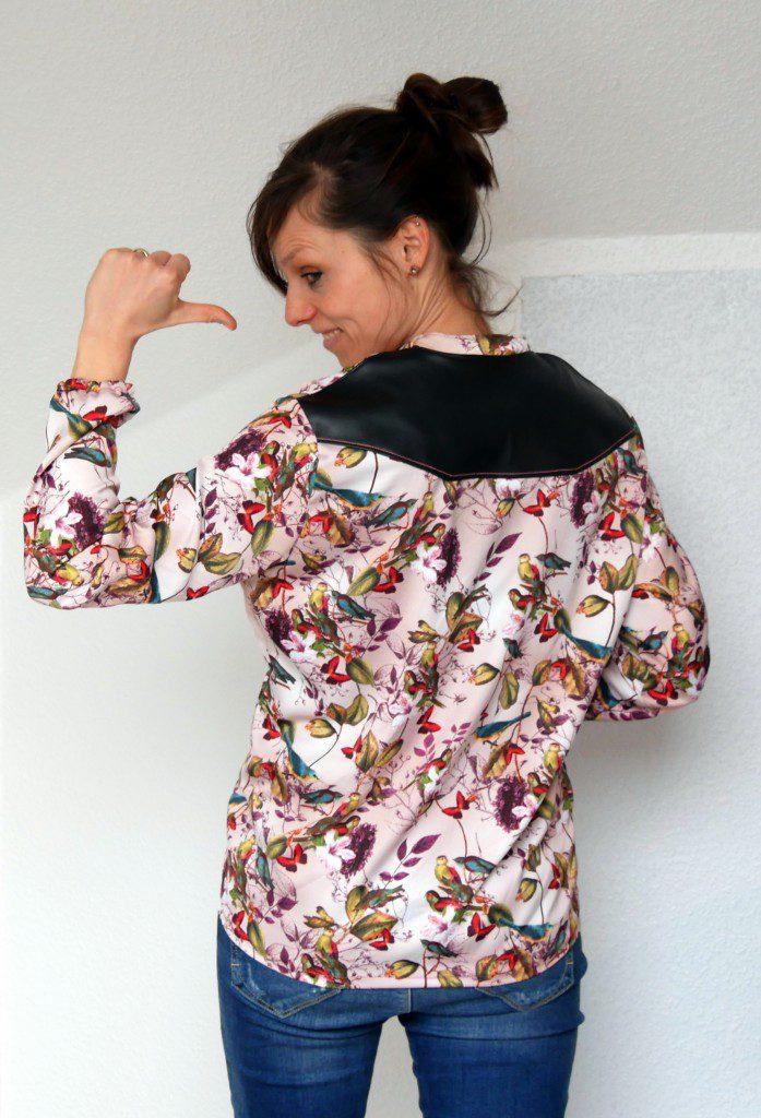 Bluse Klacks sieht mir ihrer Passe wunderbar aus, oder?