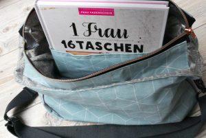 Handtasche Anouk von Frau Fadenschein mit innen liegendem Steckfach
