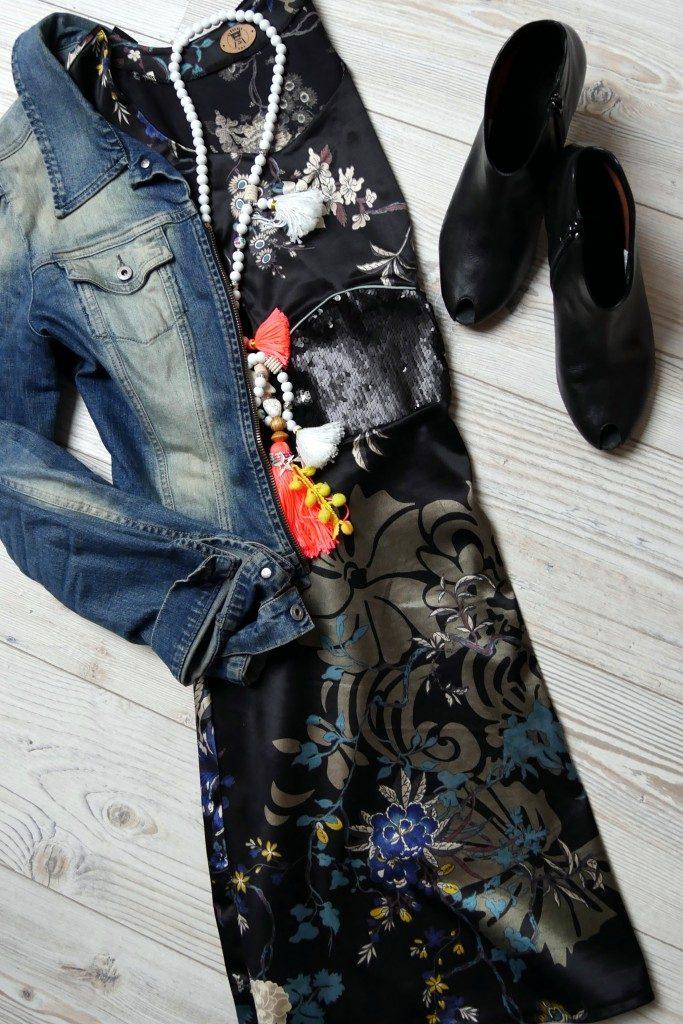 Kleid Dira nichtdehnbarer Stoff von Prülla und Mirarostock- kleine Naht ganz groß Einschulungsoutfit