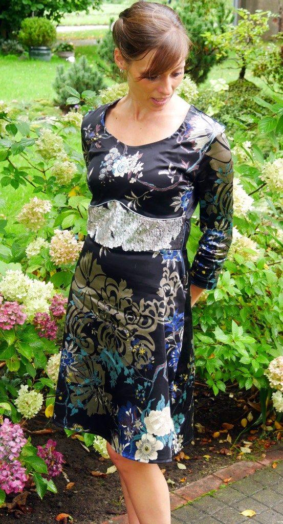 Kleid Dira nichtdehnbarer Stoff
