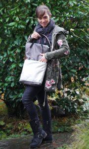 Fold-Over-Tasche Carry von Lalafab