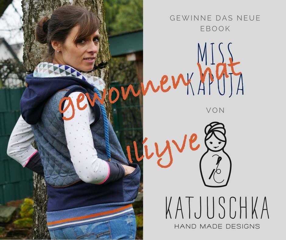 Gewinnspiel MissKapuJa Katjuschka