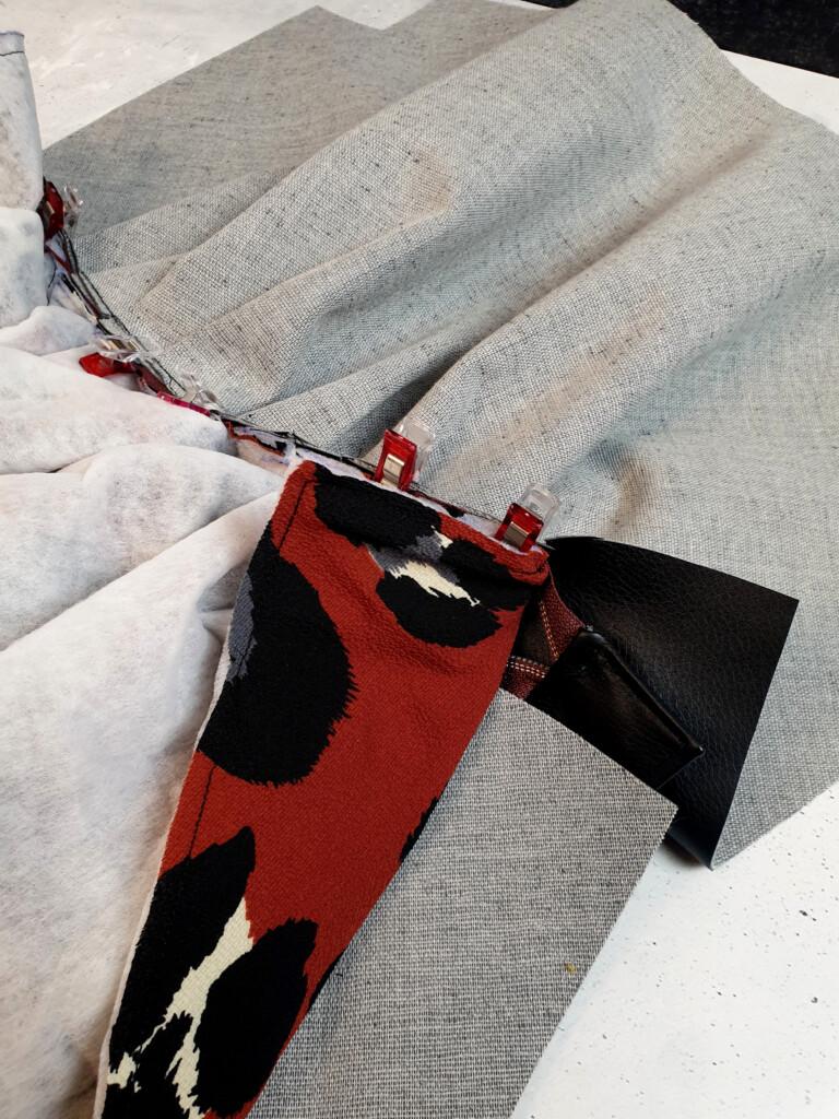 PuffyBag freebook Milliblus Hemmers Stoffe Kunstleder Stoffcrew mit Gurtband